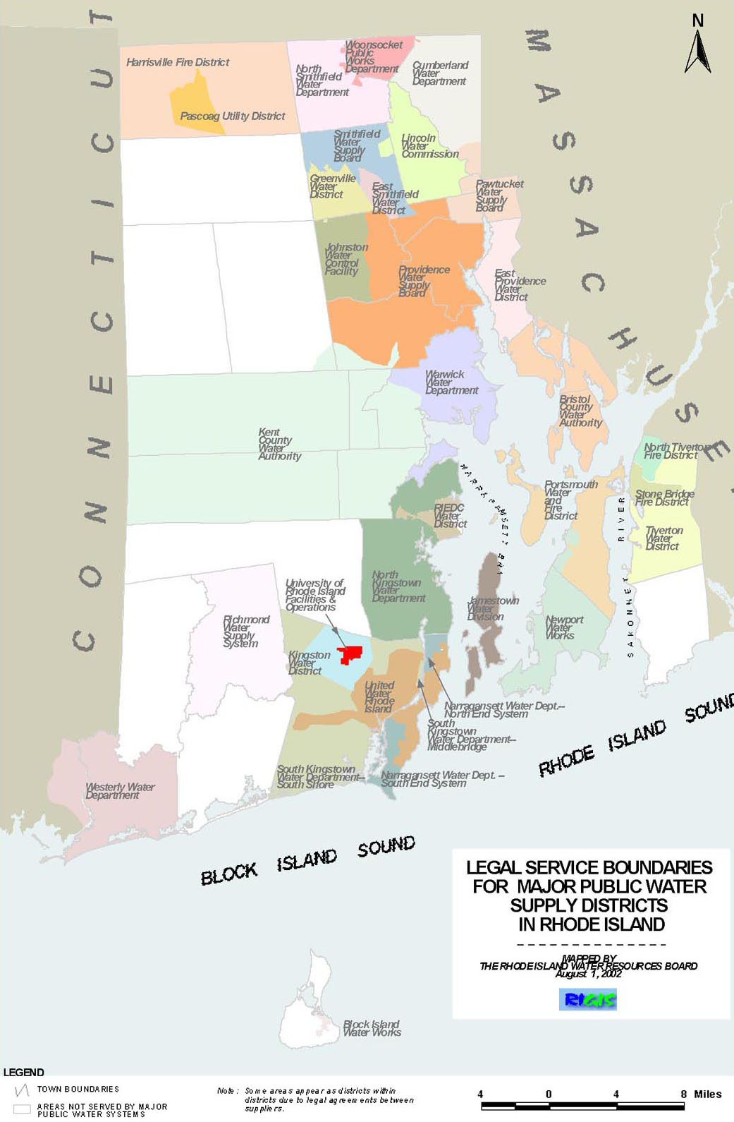Water Suppliers - RI Water Resources Board on